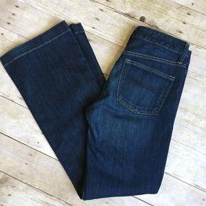 GAP 1969 Long & Lean Wide Leg Jeans Size 27/4r